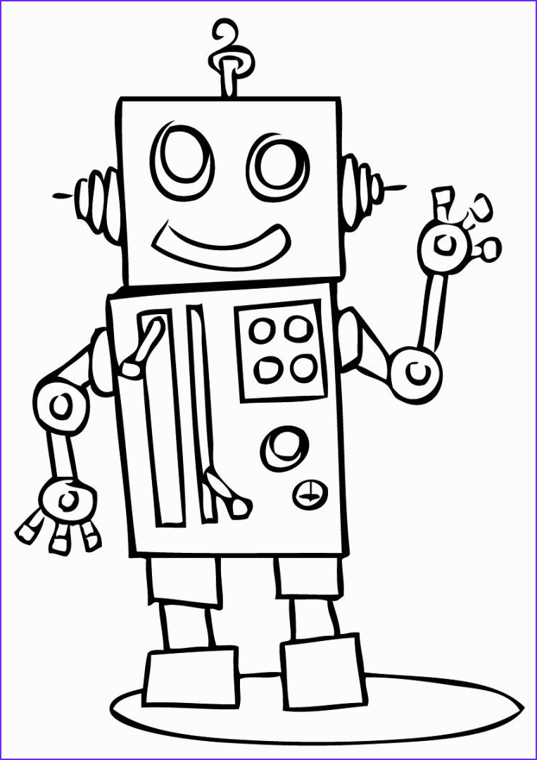 Robot Coloring Pages Best Of Collection Robots Coloring Pages
