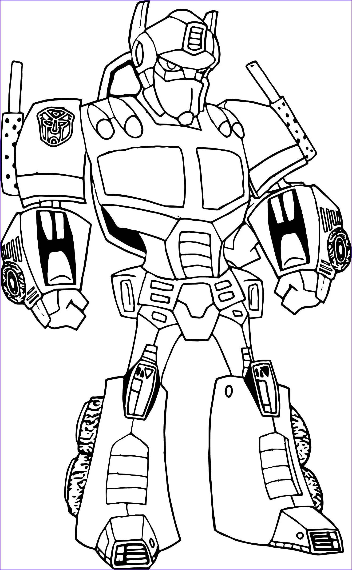Robot Coloring Pages Luxury Photos Transformers Optimus Prime Robot Coloring Page Coloring