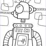 Robot Coloring Pages New Image Free Printable Robot Coloring Pages For Kids