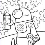 Robot Coloring Pages Unique Gallery Robot Coloring Pages