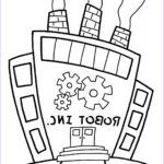 Robot Coloring Pages Unique Stock Witty Title Ing Soon October 2011