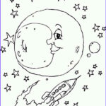 Rocket Ship Coloring Awesome Photos Moon And The Rocket Ship Coloring Page Download & Print