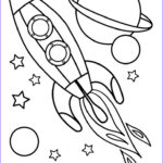 Rocket Ship Coloring Elegant Photography Rocket Clipart Colouring Page Pencil And In Color Rocket