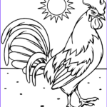 Rooster Coloring Pages Beautiful Photos A Rooster Picture To Print And Color