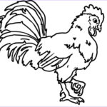 Rooster Coloring Pages New Photos Free Rooster Farm Coloring Pages Coloringsuite