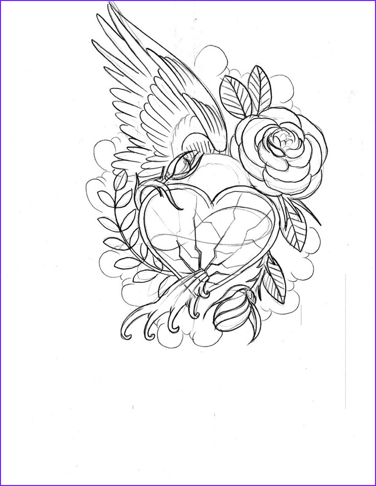 Roses Coloring Pages for Adults Beautiful Images Hearts and Roses Coloring Pages