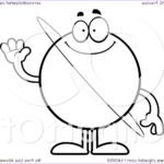 Royalty Free Coloring Pages Beautiful Photos Cartoon Clipart A Black And White Waving Planet Uranus