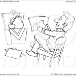 Royalty Free Coloring Pages Elegant Image Royalty Free Rf Clipart Illustration Of A Coloring Page