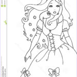 Royalty Free Coloring Pages Elegant Photos Princess Coloring Page Stock Illustration Image Of Dress