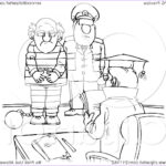 Royalty Free Coloring Pages Luxury Image Royalty Free Rf Clipart Illustration Of A Coloring Page