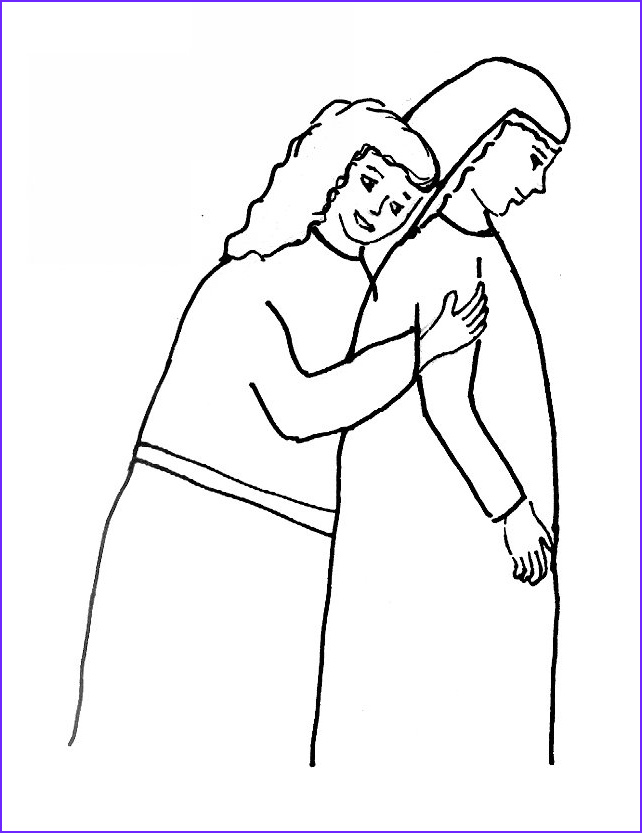 bible story coloring page for ruth the book of