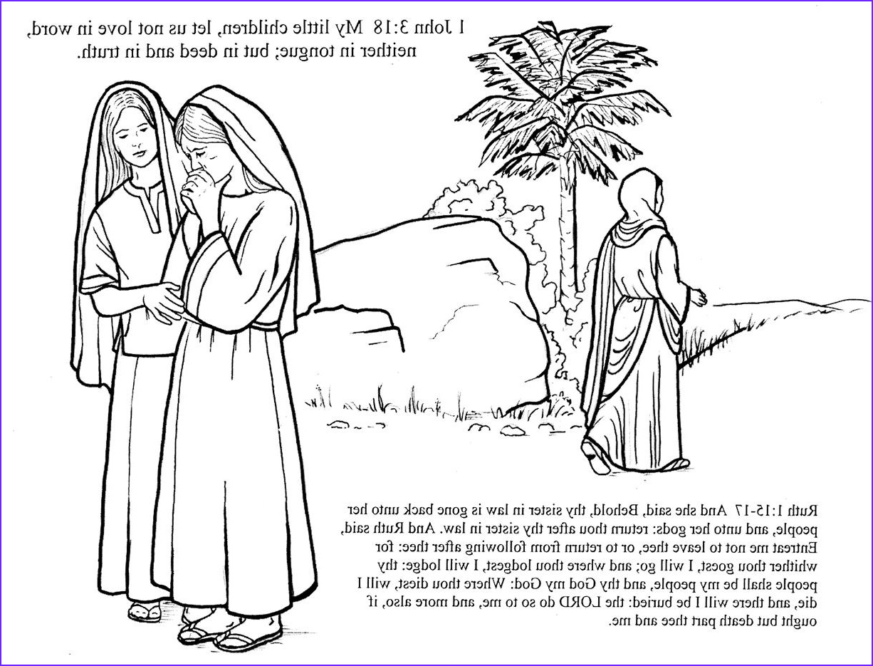 Ruth Coloring Pages Best Of Images Ruth Chapter 1 – Women S Studies