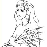 Ruth Coloring Pages Cool Stock Bible Story Of Ruth And Naomi For Children