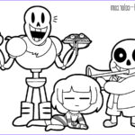 Sans Coloring Page Beautiful Photos Frisk And Chara Coloring Pages Collection