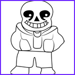 Sans Coloring Page Elegant Collection Video Games Coloring Pages