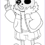 Sans Coloring Page Luxury Gallery Undertale Coloring Pages