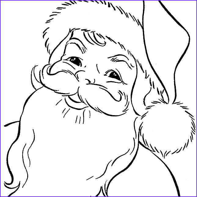 Santa Claus Coloring Best Of Photography Free Santa Coloring Pages and Printables for Kids