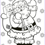 Santa Claus Coloring Elegant Collection Santa Claus Colouring In For Kids This Christmas