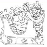 Santa Claus Coloring Elegant Gallery Christmas Coloring Pages For Kids