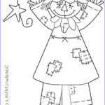 Scarecrow Coloring Page Beautiful Photos Fall Is Chasing Summer So Enjoy Fall Scarecrow Coloring
