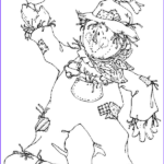 Scarecrow Coloring Page Beautiful Photos Free Printable Scarecrow Coloring Pages For Kids