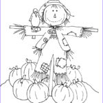 Scarecrow Coloring Page Cool Photography Coloring Pages Scarecrows For Preschooers Coloring Home