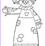Scarecrow Coloring Page Elegant Photos Fall Is Chasing Summer So Enjoy Fall Scarecrow Coloring