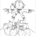 Scarecrow Coloring Page Inspirational Stock Free Dearie Dolls Digi Stamps Friendly Scarecrow Part Two