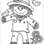 Scarecrow Coloring Page Luxury Photos 15 Printable Scarecrow Coloring Pages Print Color Craft