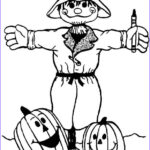 Scarecrow Coloring Page New Photos Halloween Coloring Pages July 2010