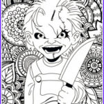 Scary Coloring Books Beautiful Gallery Halloween Coloring Pages For Adults