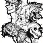 Scary Coloring Books Beautiful Photography Scary Monster Drawings