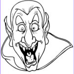 Scary Coloring Books Best Of Collection Scary Dracula Coloring Page