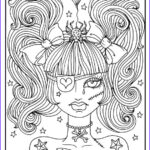 Scary Coloring Books Best Of Photography Misfit Girls 5 Pages Halloween Misfits Creepy Cute Coloring