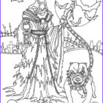 Scary Coloring Books Best Of Photos Horror Scenes Reaper Printable Adult Coloring Pages