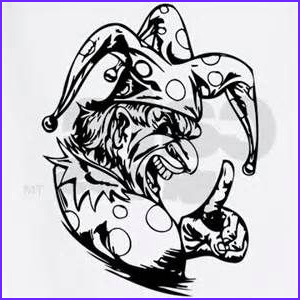 Scary Coloring Books Best Of Photos Scary Clown Coloring Pages