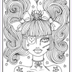 Scary Coloring Books Best Of Stock Misfit Girls 5 Pages Halloween Misfits Creepy Cute Coloring