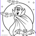 Scary Coloring Books Inspirational Collection Printable Vampire Coloring Pages For Kids