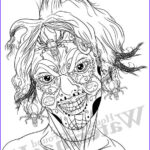 Scary Coloring Books Inspirational Gallery Pin Up Coloring Creepy Coloring Relax Color Page Sugar