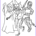 Scary Coloring Books Luxury Photos Monster Halloween Coloring Pages – Festival Collections