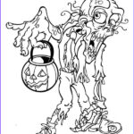 Scary Coloring Books Luxury Stock Halloween Scary Monster Coloring Page
