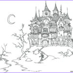 Scary Coloring Books New Gallery Scary Coloring Pages For Adults