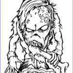 Scary Coloring Books New Stock Scary Bone Eater Monster Coloring Page