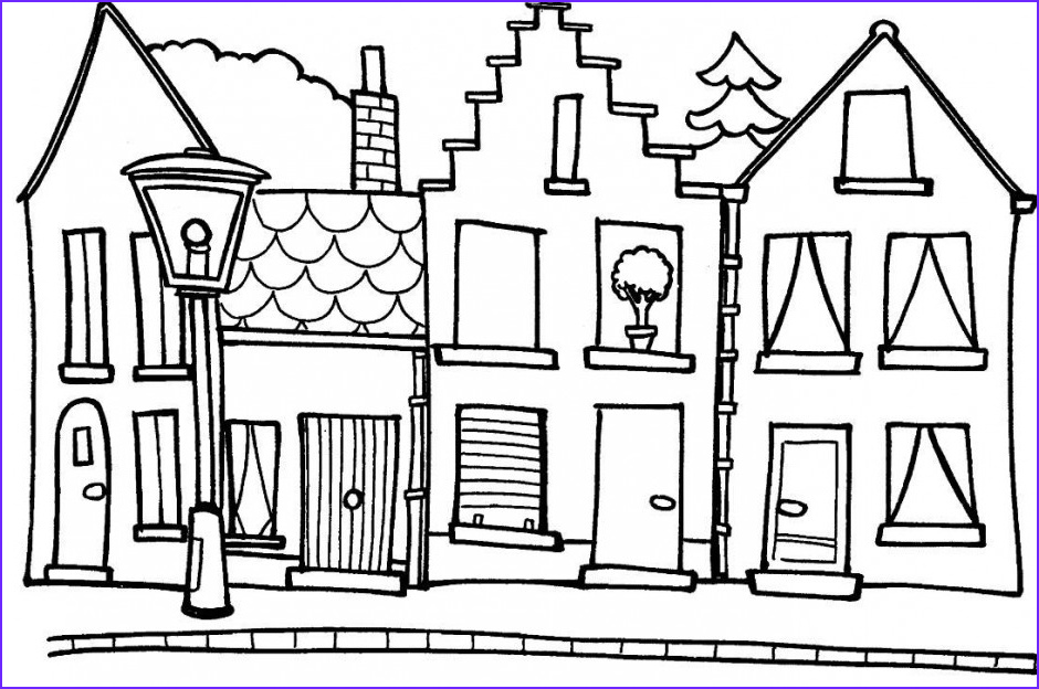 School House Coloring Pages Inspirational Image School House Coloring Page