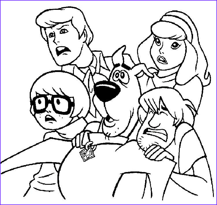 Scooby Doo Coloring Book Best Of Collection Scooby Doo Coloring Pages Dr Odd