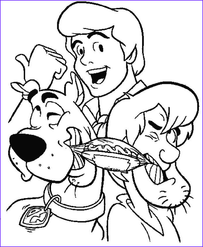 Scooby Doo Coloring Book Best Of Gallery Scooby Doo Monster Coloring Sheets