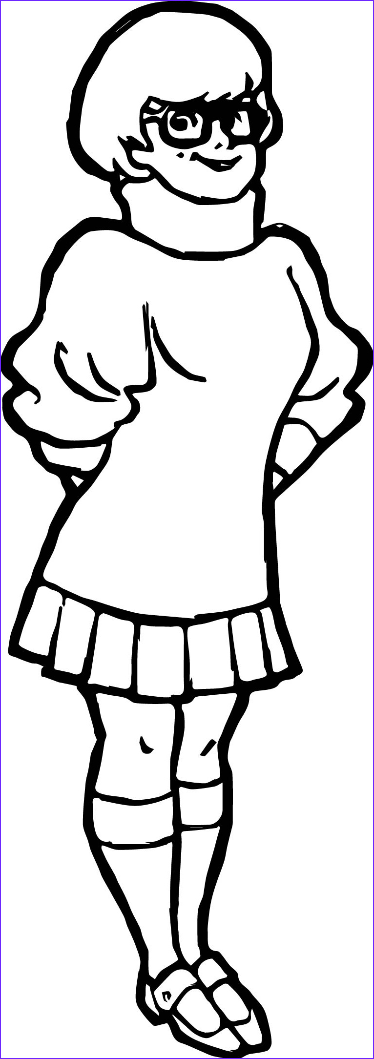 Scooby Doo Coloring Book New Photos Velma Dinkley Coloring Page