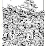 Sea Life Coloring Books Luxury Collection 332 Best Coloring Seashells & Sea Life Images On