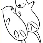 Sea Otter Coloring Page Awesome Images 11 Pics Of Easy Sea Otter Coloring Pages Sea Otter