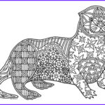 Sea Otter Coloring Page Beautiful Photography Sea Otter Zentangle Coloring Page By Pamela Kennedy